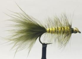 Woolly Bugger Yellow & Olive