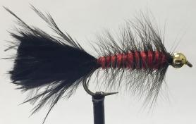 Woolly Bugger Red &Black
