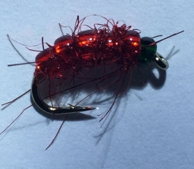 Мушка Bloodworm Red